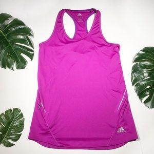 Adidas | Pink Racerback Tank with pocket